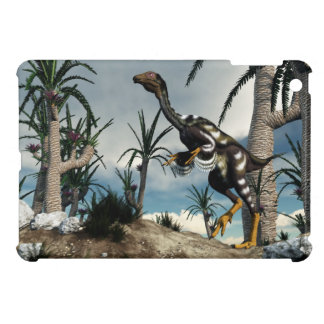 Caudipteryx dinosaur - 3D render iPad Mini Cover
