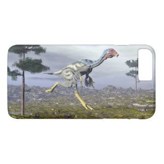 Caudipteryx dinosaur - 3D render iPhone 8 Plus/7 Plus Case