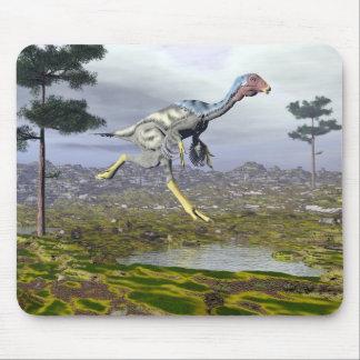 Caudipteryx dinosaur - 3D render Mouse Pad