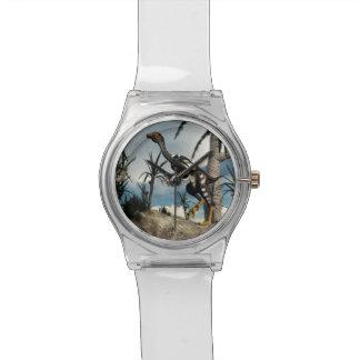 Caudipteryx dinosaur - 3D render Watch