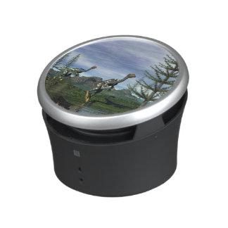 Caudipteryx dinosaurs - 3D render Bluetooth Speaker