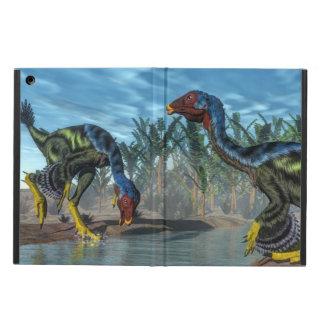 Caudipteryx dinosaurs - 3D render iPad Air Cover