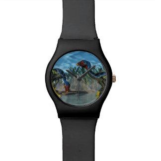 Caudipteryx dinosaurs - 3D render Watch