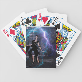 CAUGHT IN THE STORM BICYCLE PLAYING CARDS