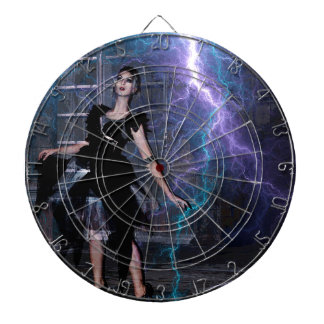 CAUGHT IN THE STORM DARTBOARD