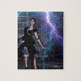 CAUGHT IN THE STORM JIGSAW PUZZLE