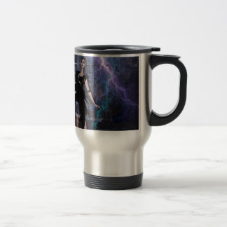CAUGHT IN THE STORM TRAVEL MUG