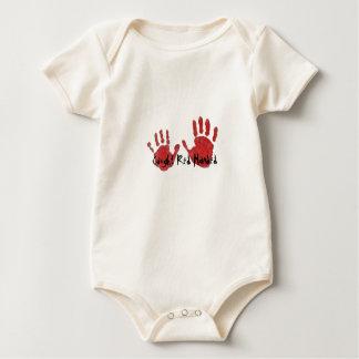 Caught Red Handed Baby Vest Baby Bodysuit