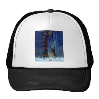 CAUGHT ~ UNDER DRESSED FOR THIS STORM.jpg Trucker Hat