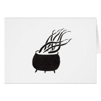 Cauldron Full of Tentacles Card