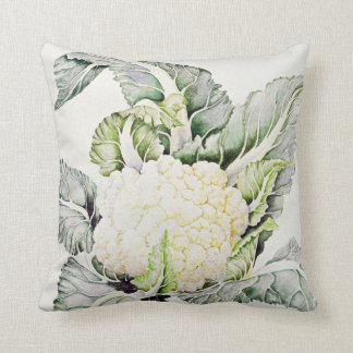 Cauliflower Study 1993 Throw Pillow