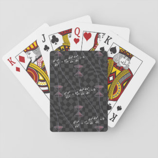 Causality in the Relativity Theory Playing Cards