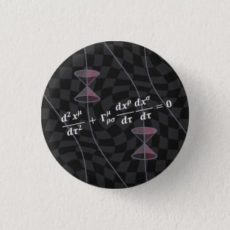 Causality in the Relativity Theory (type 2S) 1 Inch Round Button
