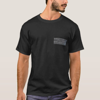 Cause of Death - Judicial Electrocution-Volts 2000 T-Shirt