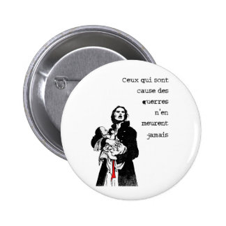 Causes !! 2 inch round button