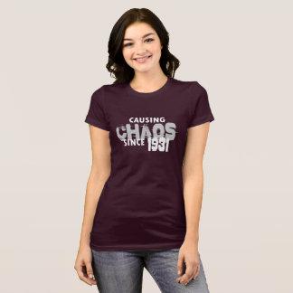 Causing Chaos Since 1931 T-Shirt Bday Gift Shirt