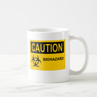 CAUTION Biohazard Coffee Mug