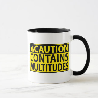 Caution: Contains Multitudes Mug