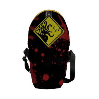 Caution Cthulhu Commuter Bag