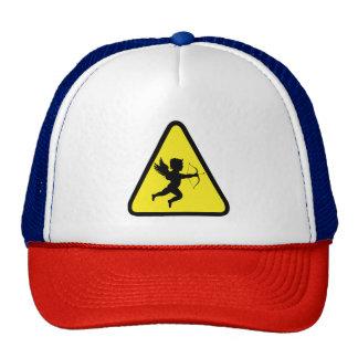 Caution: Cupid Trucker Hat