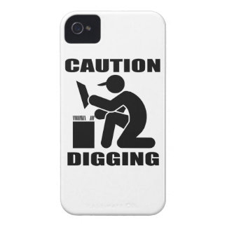 Caution Digging iPhone 4 Covers