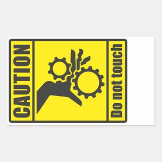 Caution: Do not touch (Sticker) Sticker