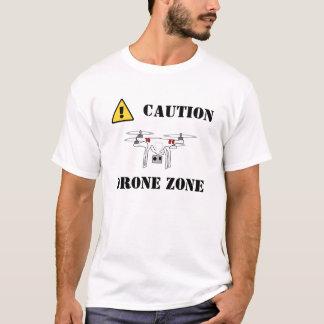 CAUTION DRONE ZONE shirt