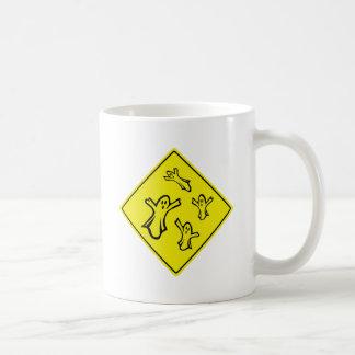 Caution Ghosts Mug
