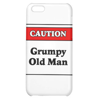 Caution Grumpy Old Man iPhone 5C Covers