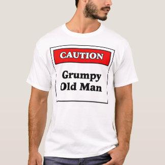 Caution: Grumpy Old Man T-Shirt