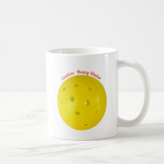 """Caution:  Heavy Dinker"" Coffee Mug"
