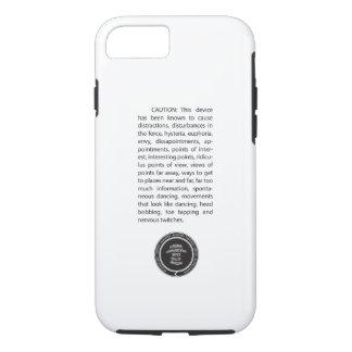 Caution - iPhone Case