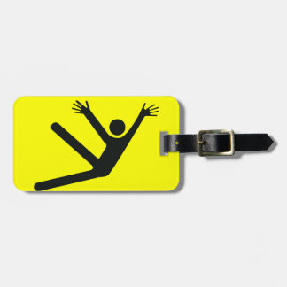 Caution Jazz Hands Luggage Tag