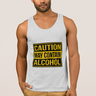 Caution May Contain Alcohol Sign