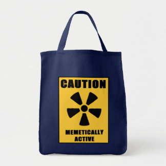 caution Meme Tote Bag