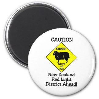 Caution NZ Red Light District Magnet