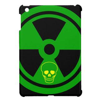 Caution Radioactive Sign With Skull iPad Mini Case