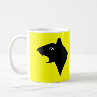 CAUTION! RATS ON PATROL COFFEE MUG
