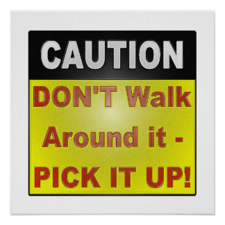 CAUTION SAFETY SIGN FOR HOME OR WORK!