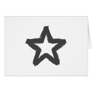 Caution star ahead! card