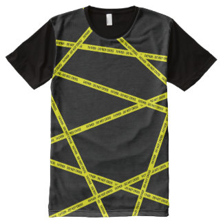 Caution Tape FATHER DO NOT CROSS All-Over-Print T-Shirt