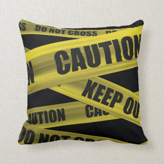 Caution Tape - Pillow