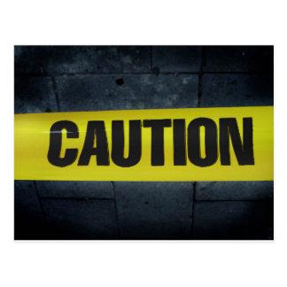 Caution Tape Postcards