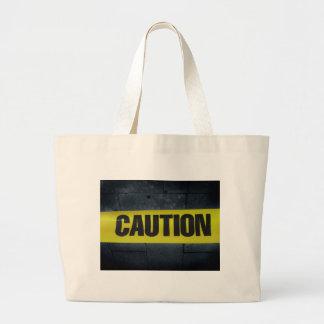 Caution Tape Tote Bag