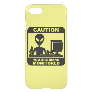 Caution! you are being monitored iPhone 8/7 case