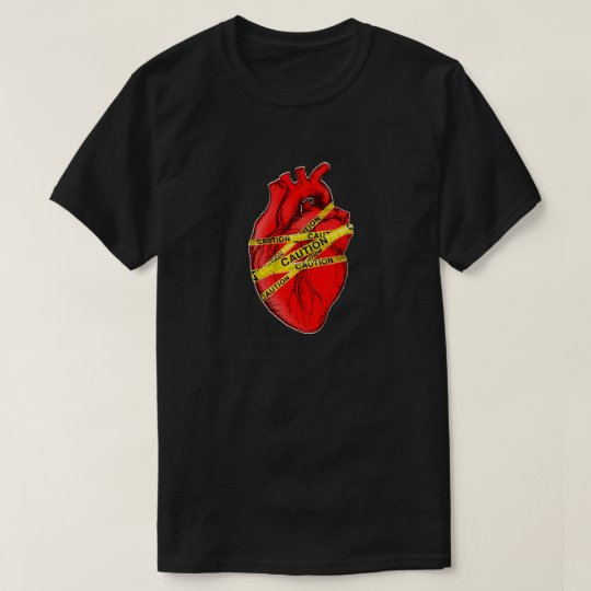 Cautious Heart T-Shirt