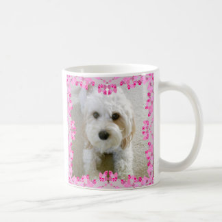 Cavachon Photo Mug, Customized Dog Photo Coffee Mug