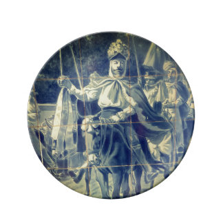 Cavalhadas Tile Plate