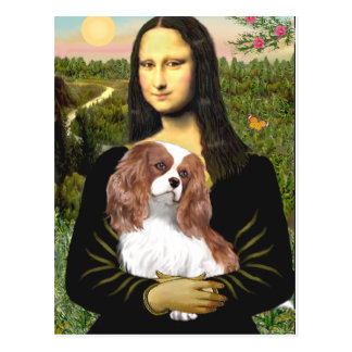 Cavalier 2 (Bl) - Mona Lisa Postcard