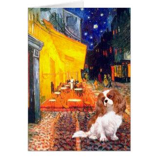 Cavalier 2 (Bl) - Terrace Cafe Card